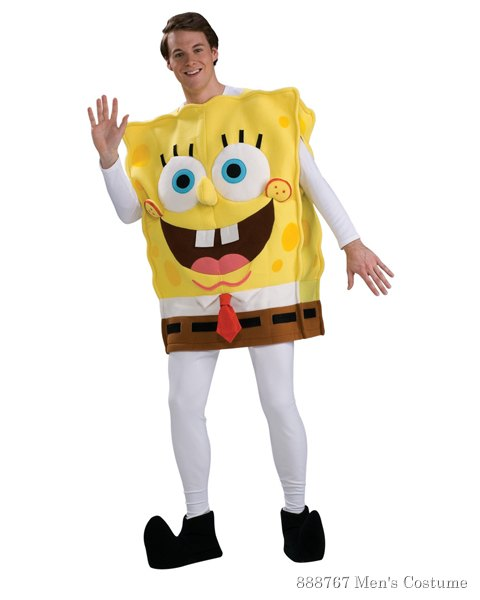 Deluxe Spongebob Costume For Adult - Click Image to Close