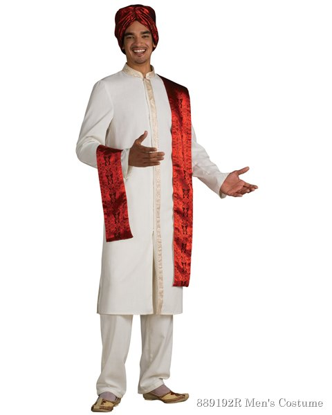 Adult Deluxe Bollywood Male Costume