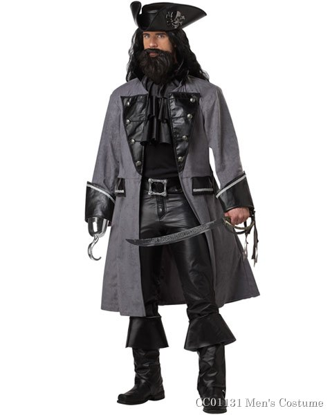 Blackbeard Mens Costume