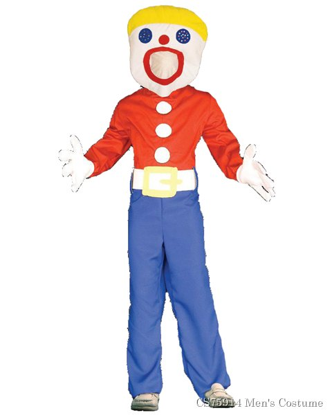Adult Mr. Bill Costume