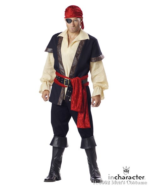 Adult Premier Pirate Costume