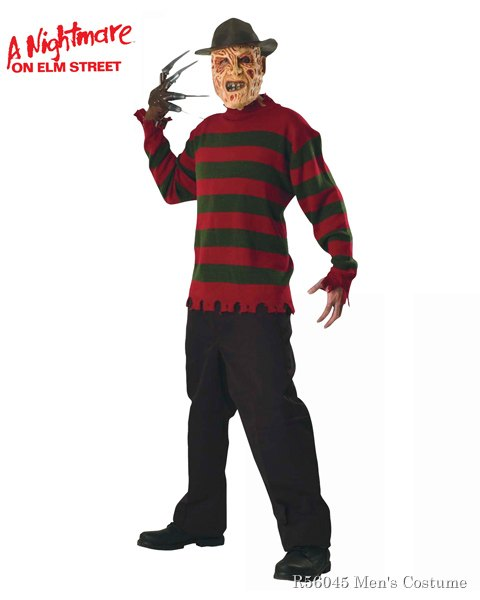 Nightmare On Elm Street Freddy Sweater For Adults
