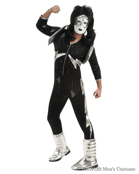 Deluxe KISS Space Man Mens Costume