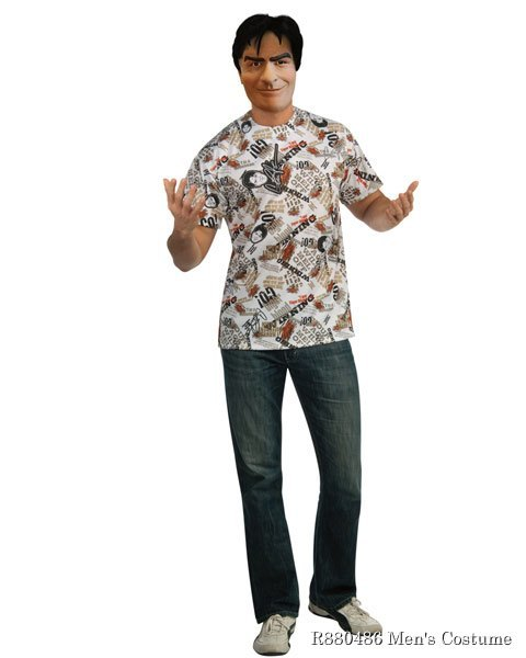Charlie Sheen Mens Costume Kit