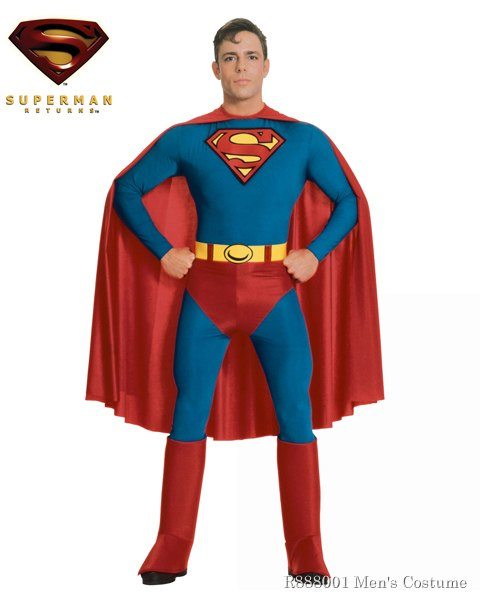 Adult Superman (tm) Costume