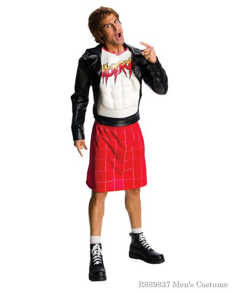 WWE Deluxe Rowdy Roddy Piper Mens Costume