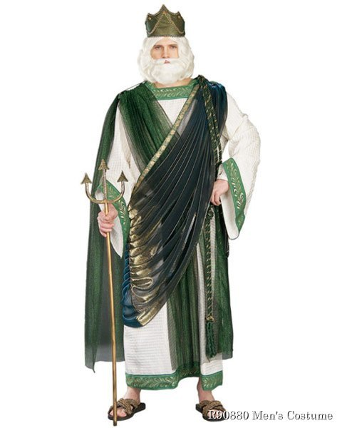 Regency Collection Neptune Mens Costume