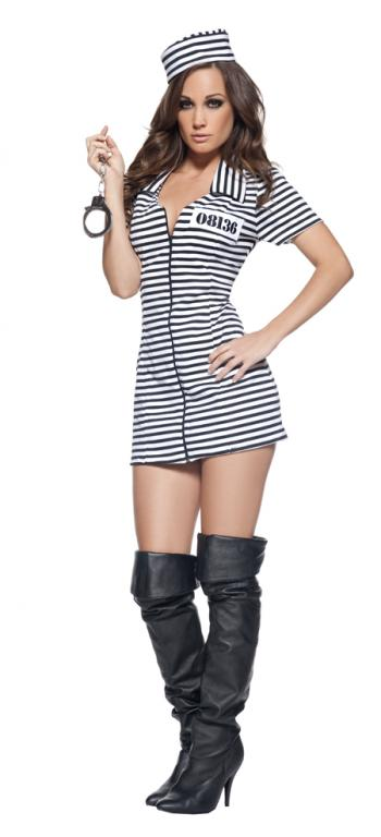 Miss Behaved Sexy Adult Costume