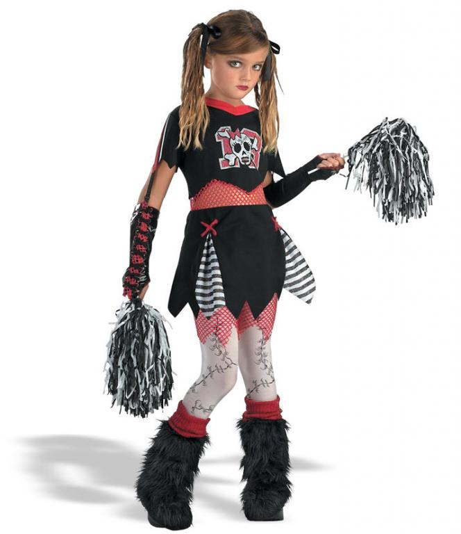Goth Cheerleader Costume