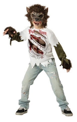 Werewolf Child Costume