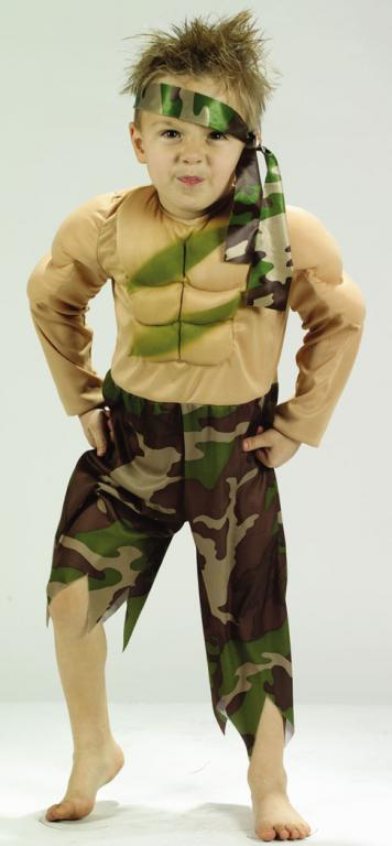 Jungle Fighter Toddler Costume