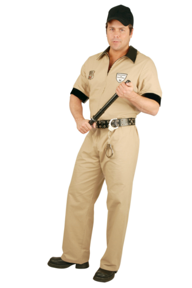 Department Of Corrections Adult Costume