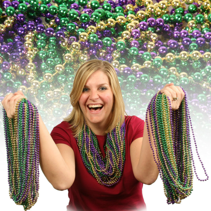 "33"" Round Beads Asst. (144 count)"