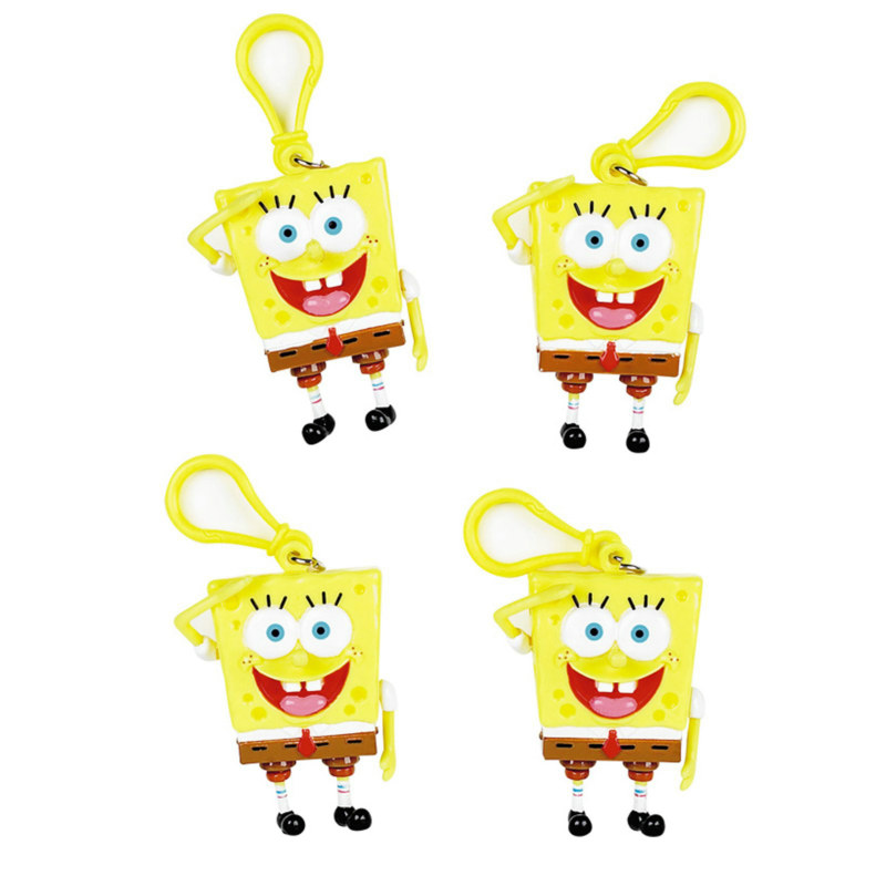 SpongeBob Backpack Clips (4 count)
