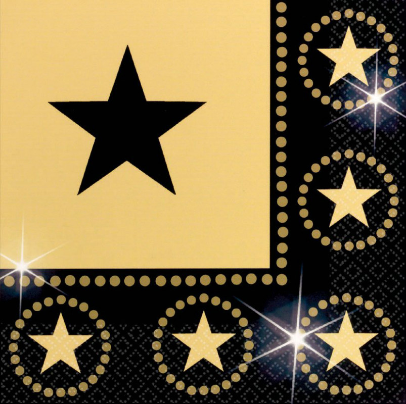 Star Attraction Lunch Napkins (16 count)