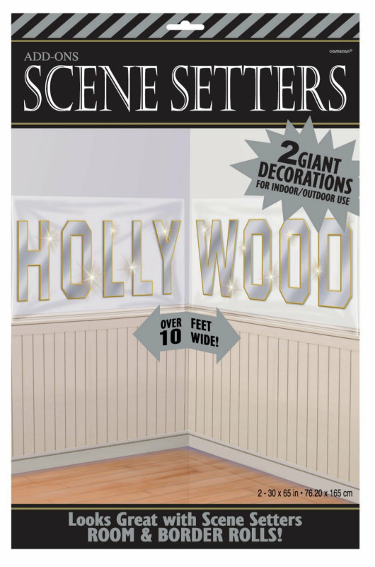 10' Large Hollywood Sign Add-On