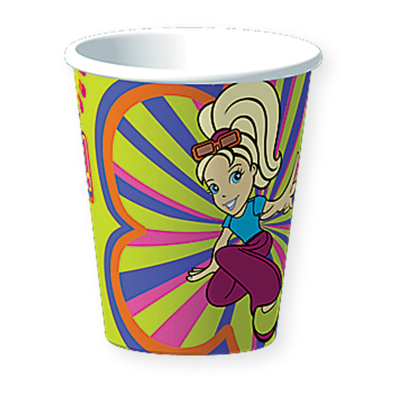 Polly Pocket 9 oz. Paper Cups (8 count)