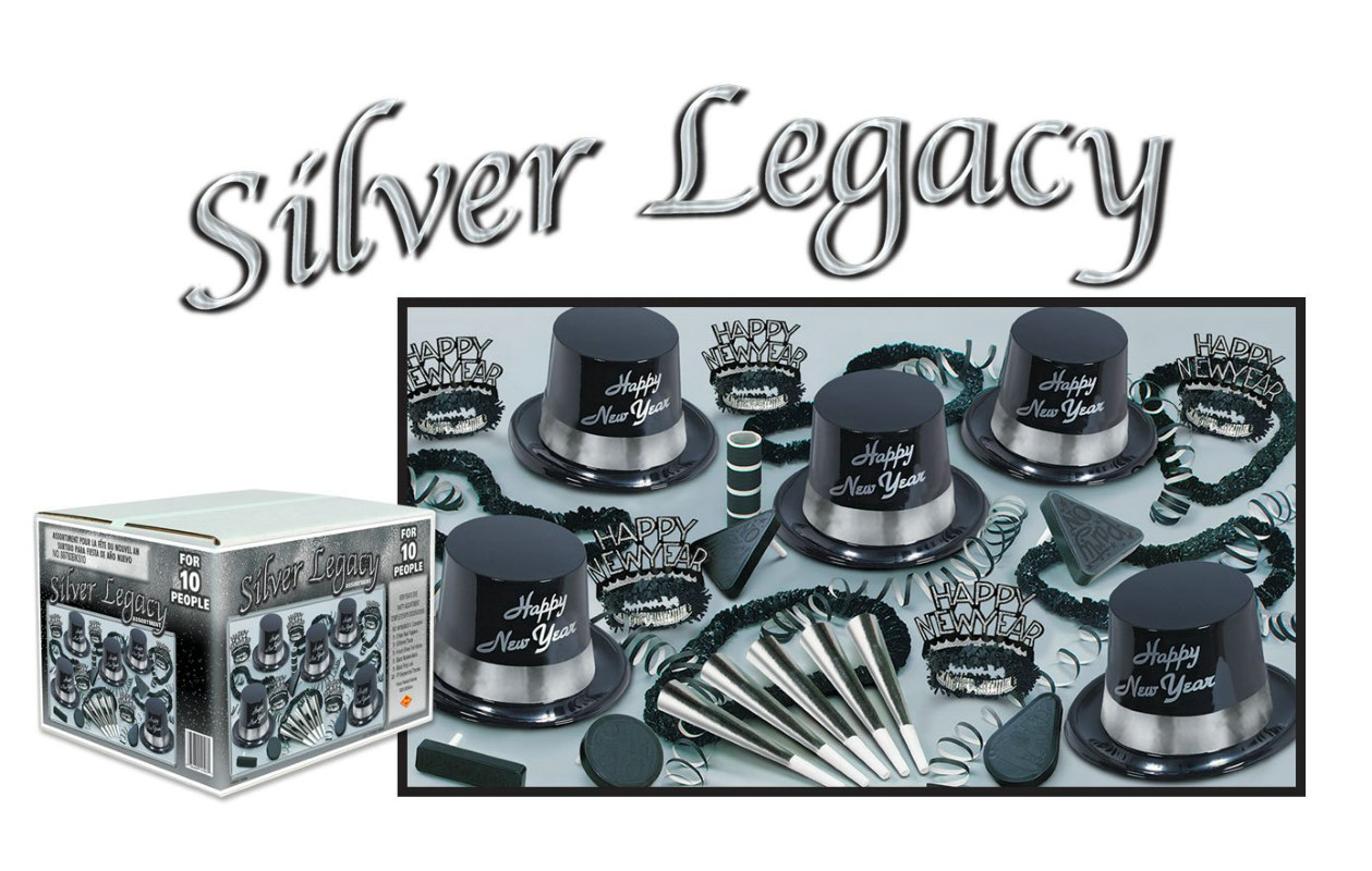 Silver Legacy New Years Assortment for 10 People
