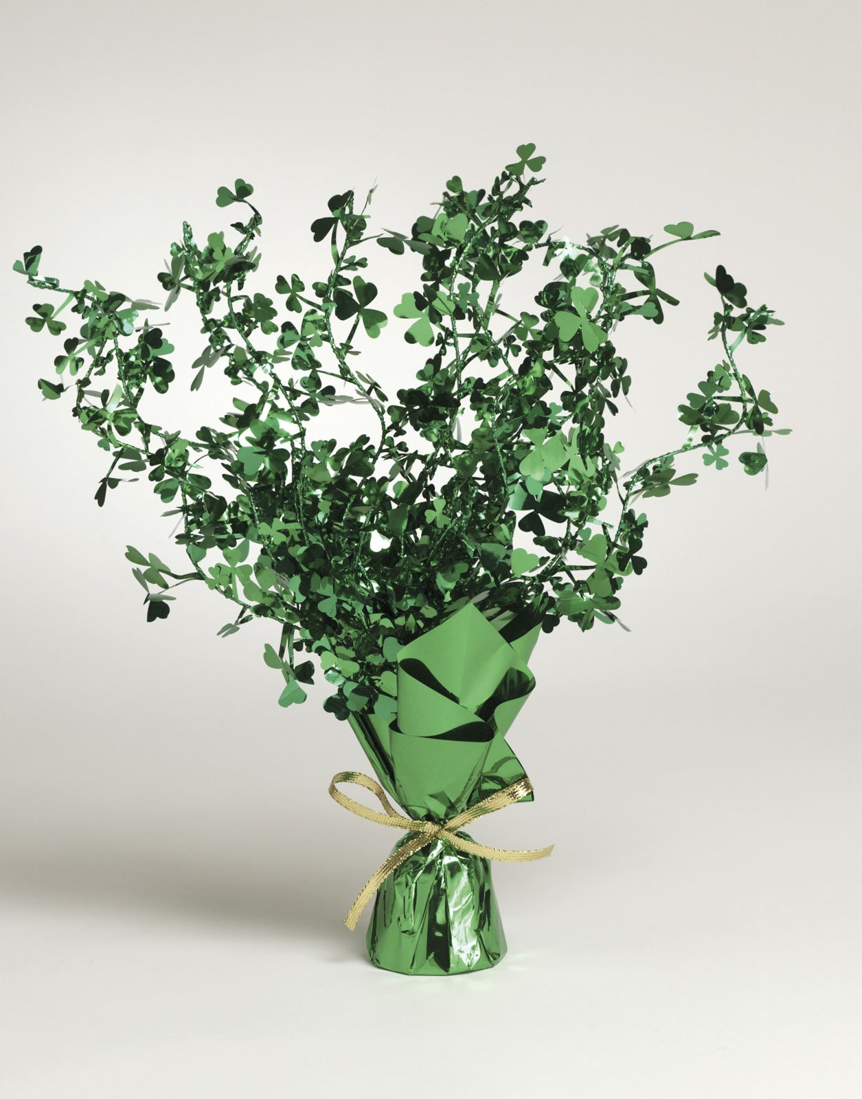 Shamrocks Foil Spray Centerpiece