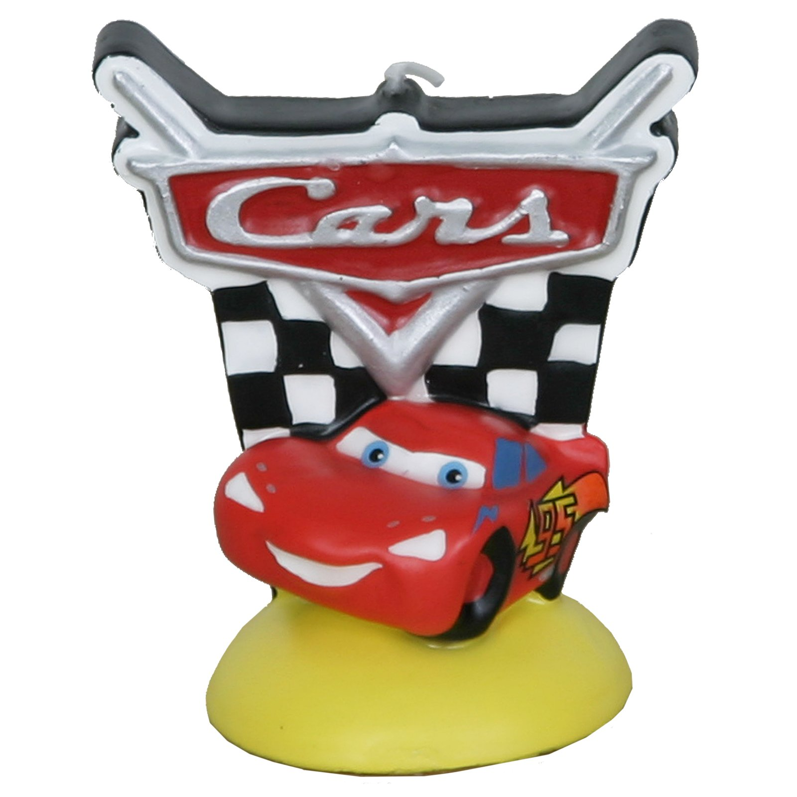 Disney's Cars Logo Candle