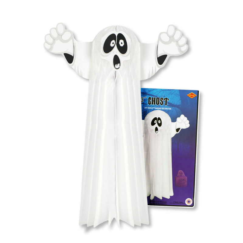 "23"" Hanging Tissue Ghost"