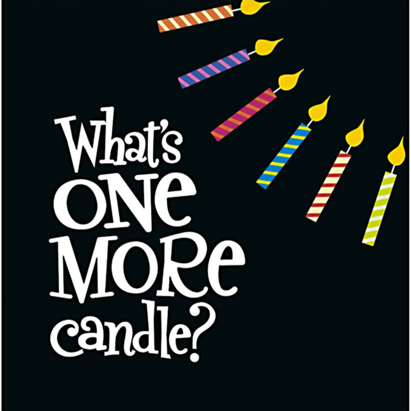 One More Candle Lunch Napkins (16 count)