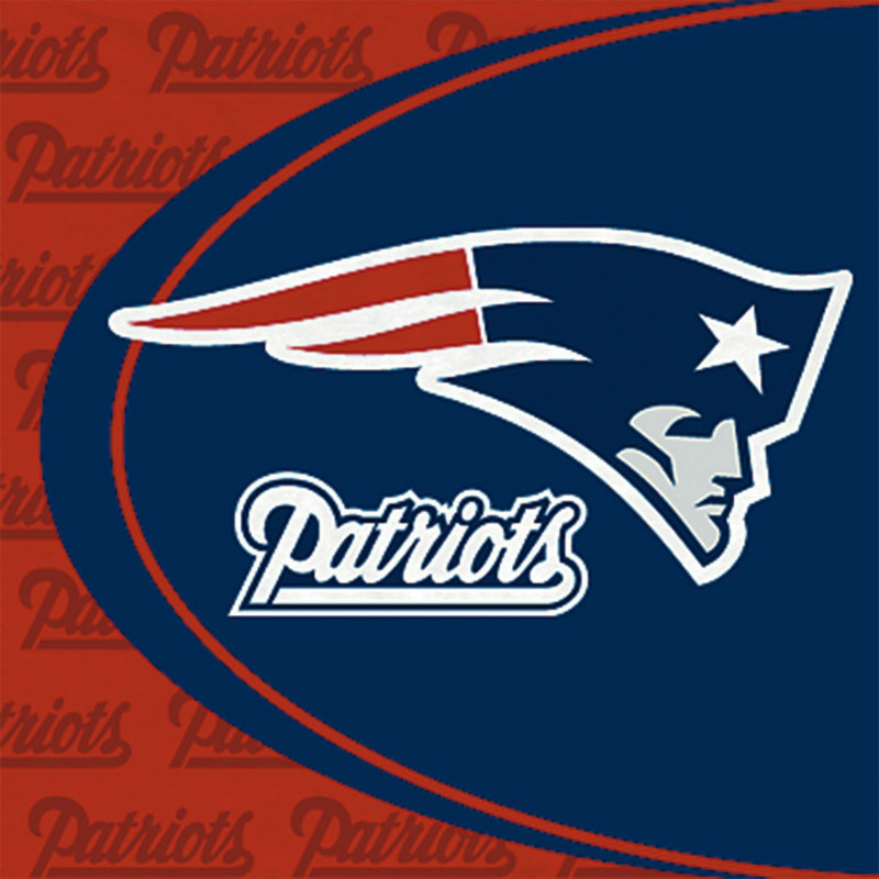 New England Patriots Lunch Napkins (16 count)