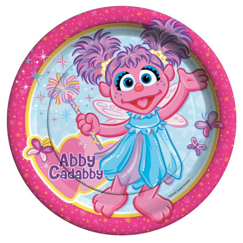 Abby Cadabby Dinner Plates (8 count)