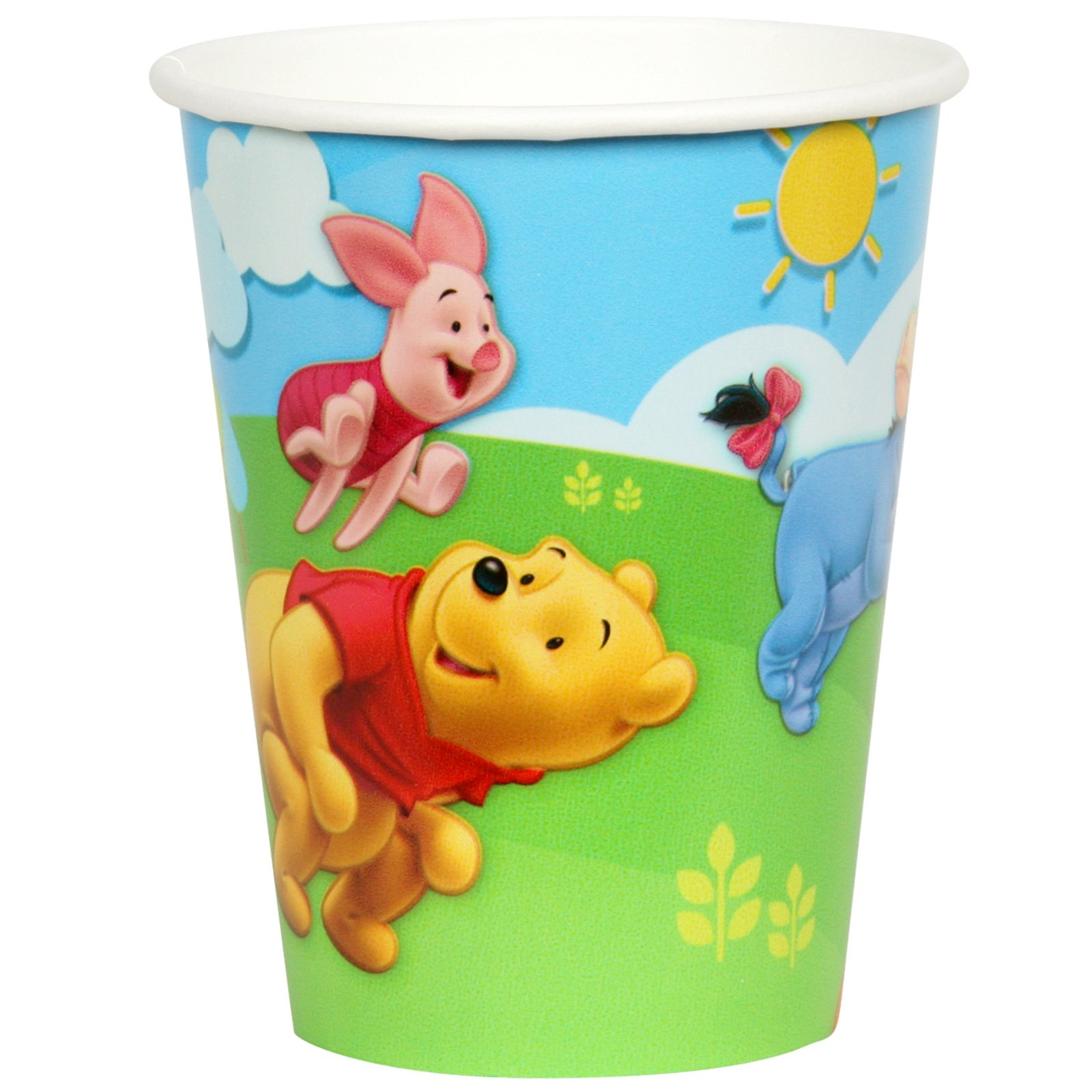 Pooh and Friends 9 oz. Paper Cups (8 count)