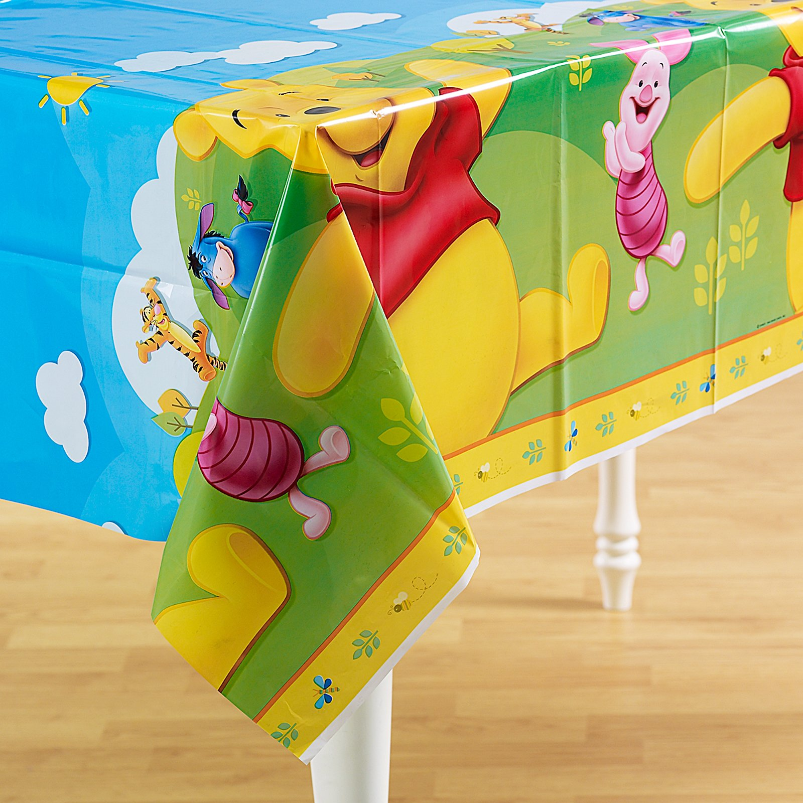 Pooh and Friends Plastic Tablecover