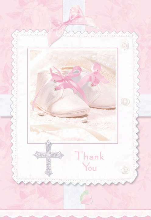 Tiny Blessing Pink Thank You Cards (8 count)