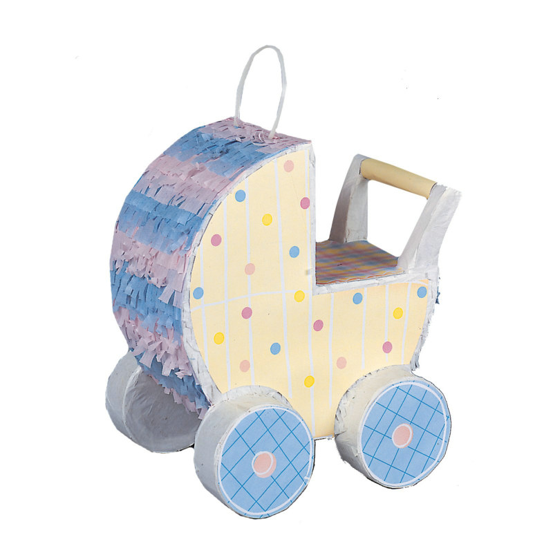 Baby Carriage Decorator Pinata