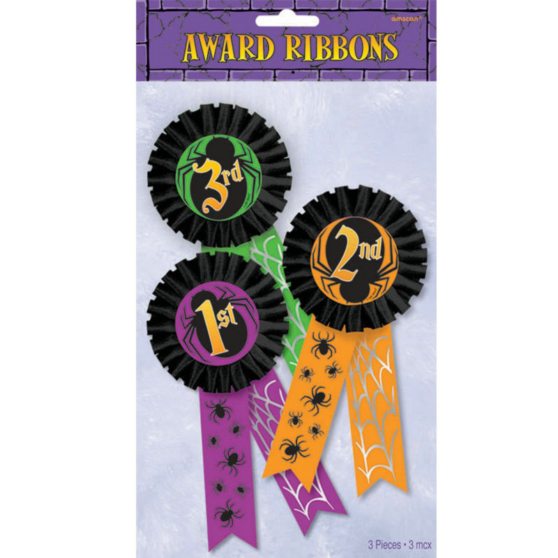 Halloween Award Ribbon Multi-Pack (3 count)
