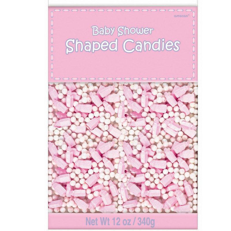 Baby Shower Shaped Candy - Pink