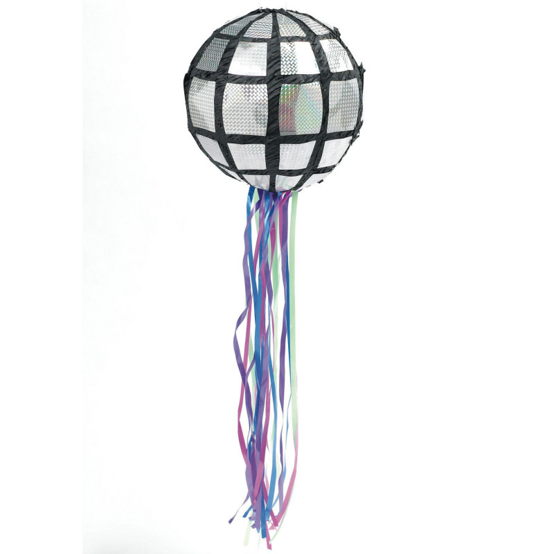 Disco Ball Pull String Pinata