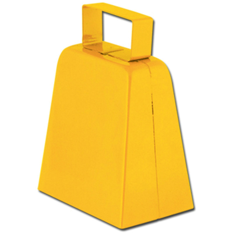 Yellow Cowbell