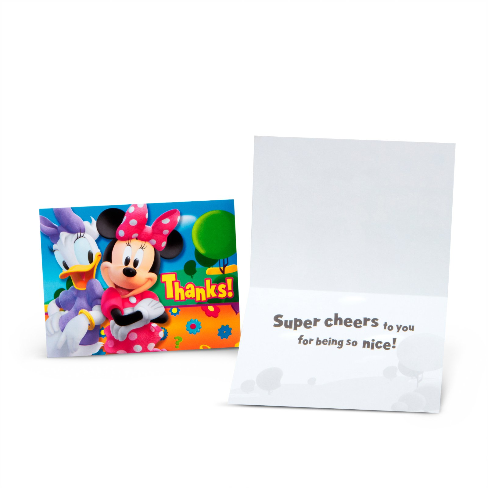 Minnie Mouse Thank You Cards (8 count)