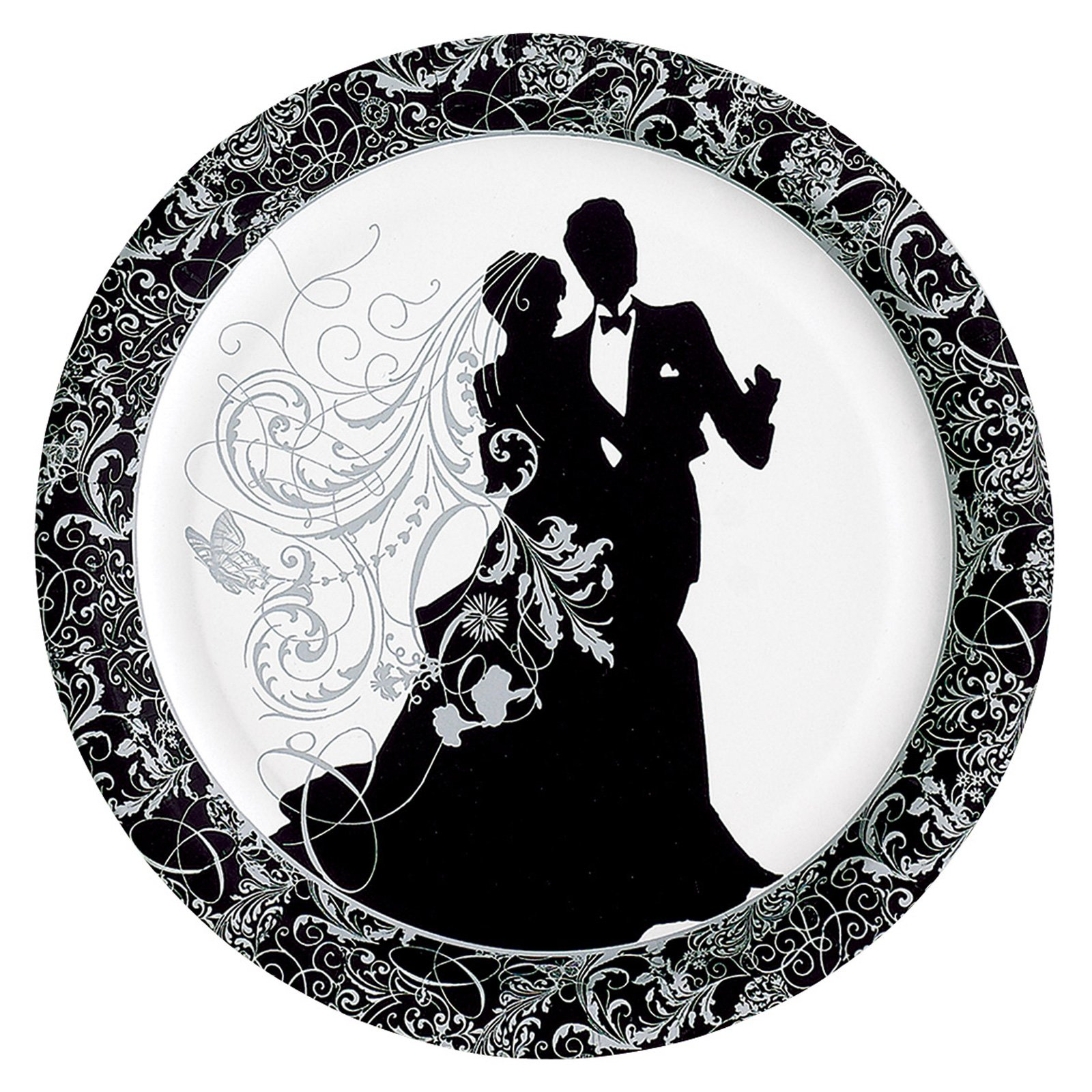 Silhouette Banquet Plates (8 count)