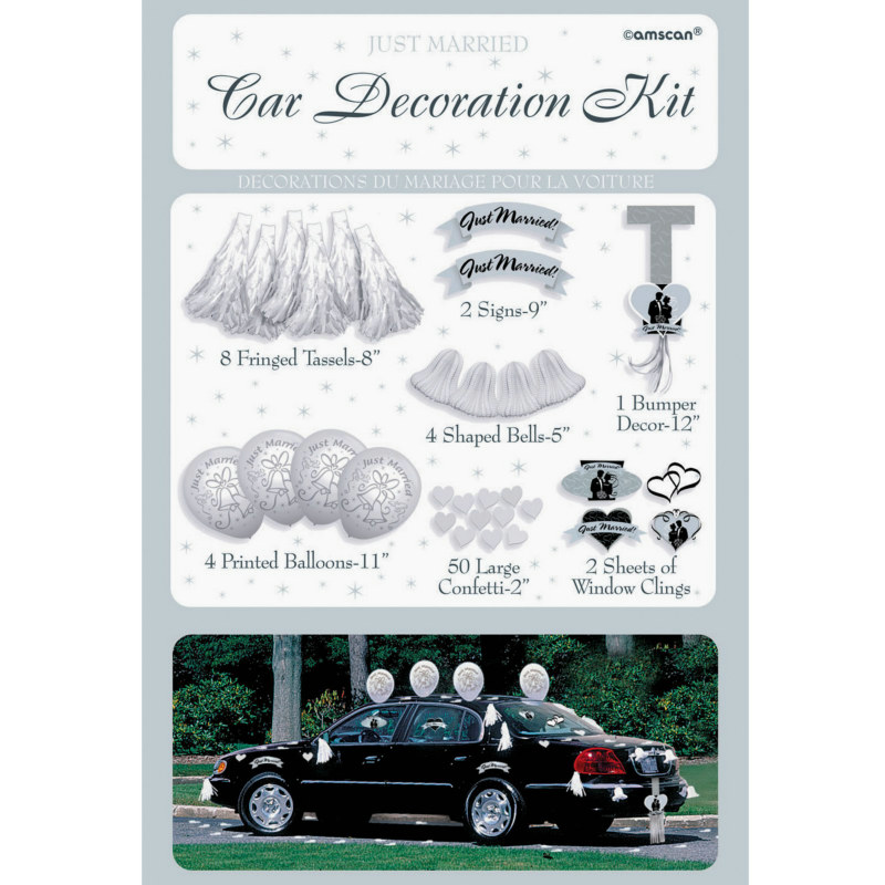 Wedding Car Decorating Set