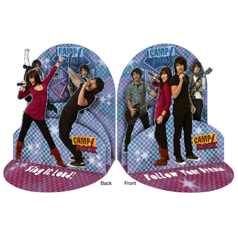 Camp Rock Centerpiece