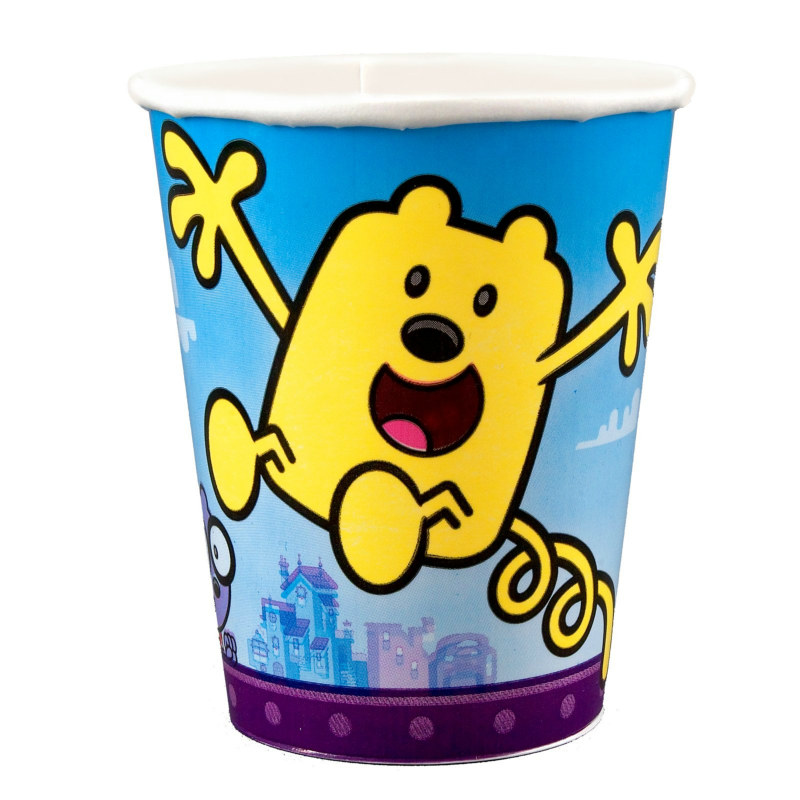 Wow! Wow! Wubbzy! 9 oz. Paper Cups (8 count)
