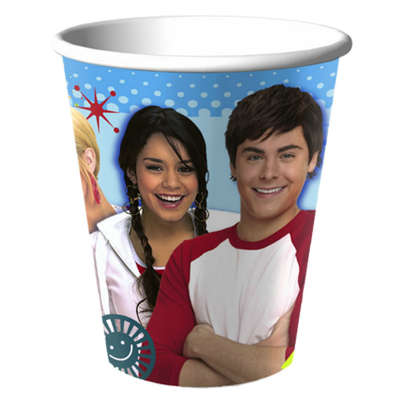 High School Musical: Friends 4 Ever 9 oz. Paper Cups (8 count)