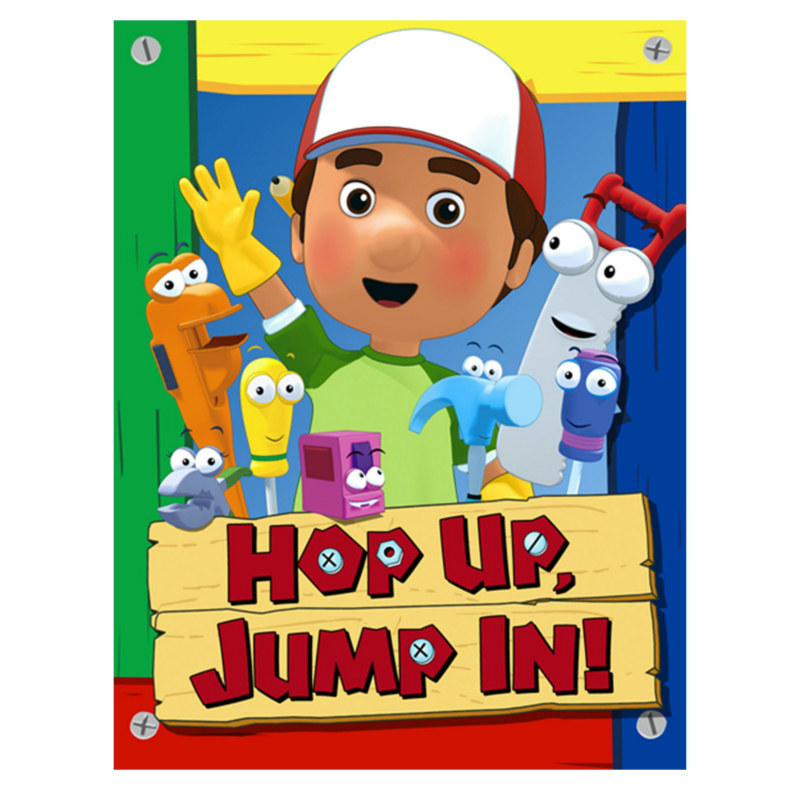 Handy Manny Invitations (8 count)