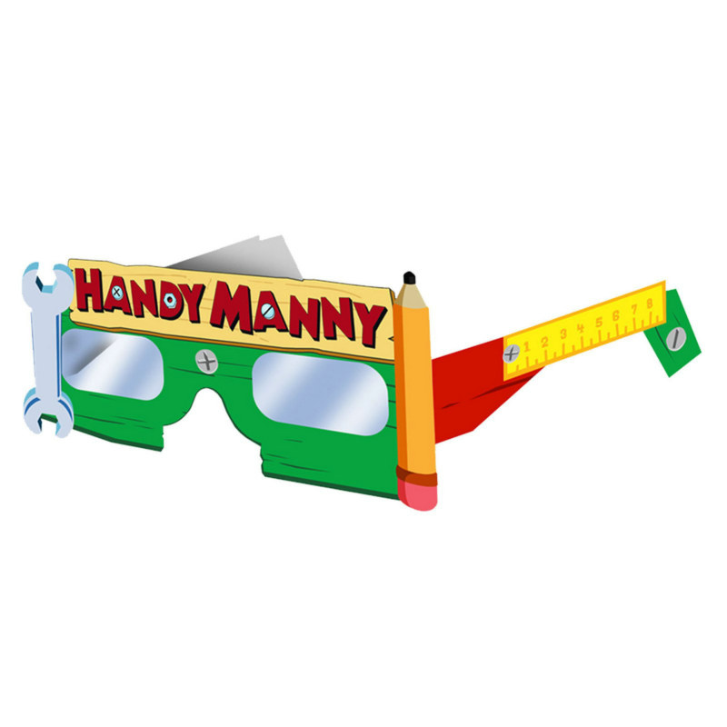 Handy Manny Paper Glasses (8 count)