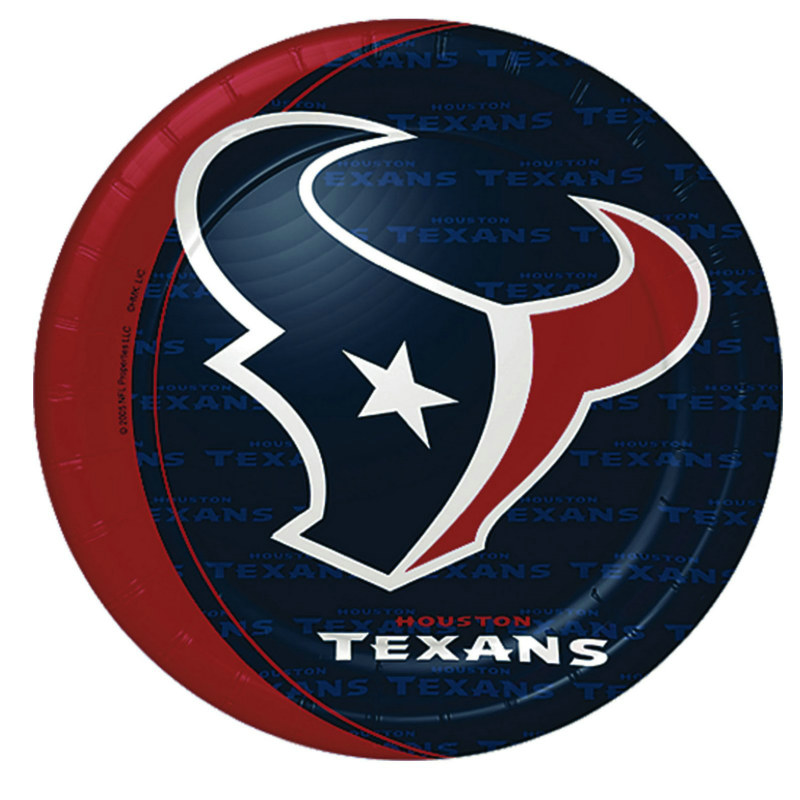 Houston Texans Dinner Plates (8 count)