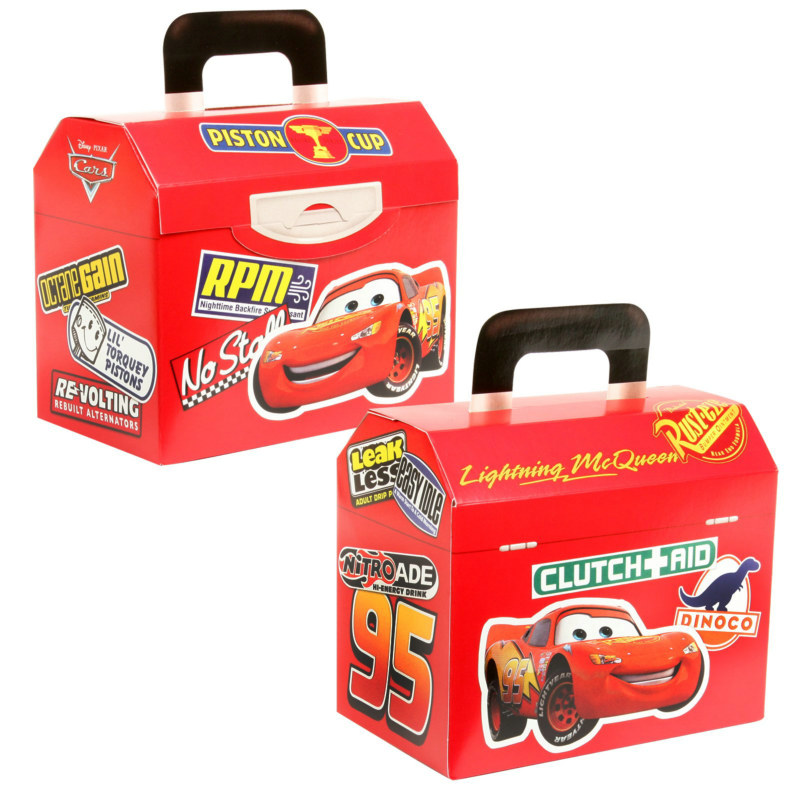 Disney's World of Cars Treat Boxes (4 count)