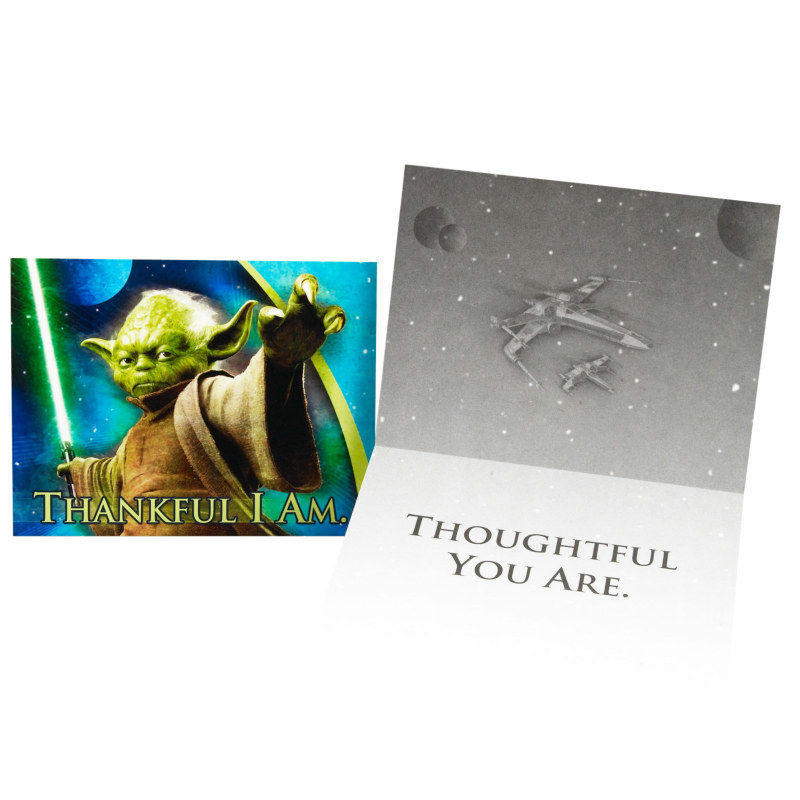 Star Wars: Feel the Force Thank You Cards (8 count)