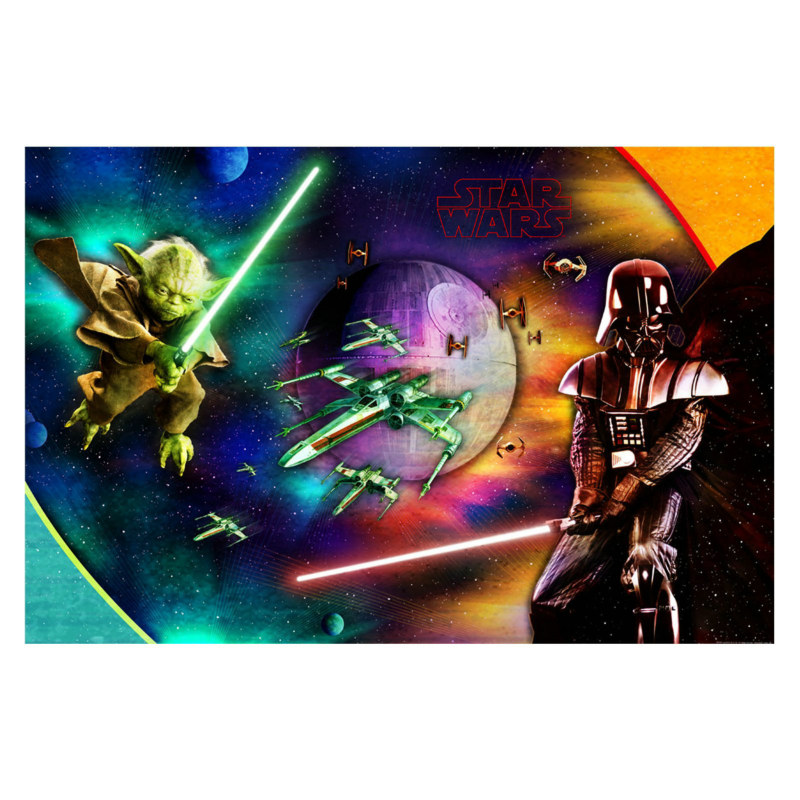 Star Wars 3D Feel the Force 5' Wall Mural