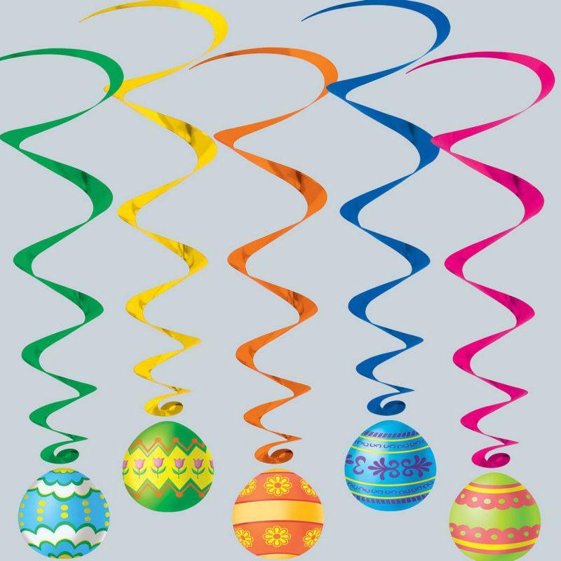 Easter Egg Whirls Asst. (5 count)