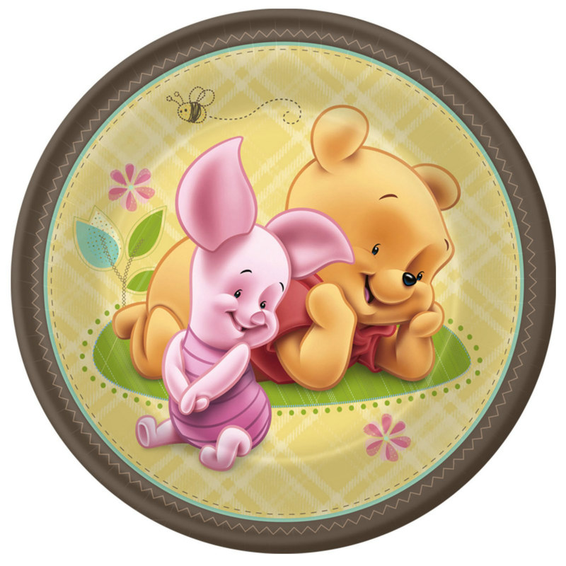 Baby Pooh and Friends Dessert Plates (8 count)